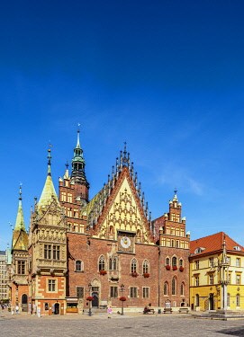 POL2288AW Old Town Hall, Wroclaw, Lower Silesian Voivodeship, Poland