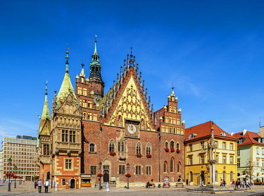 POL2289AW Old Town Hall, Wroclaw, Lower Silesian Voivodeship, Poland