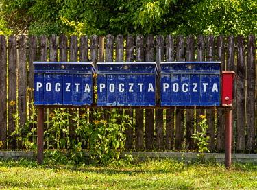 POL2311AW Vintage Mailboxes in Gorecko Koscielne, Lublin Voivodeship, Poland
