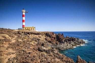 ES09642 Spain, Canary Islands, Tenerife Island, Poris de Abona, Faro de Punta de Abona lighthouse