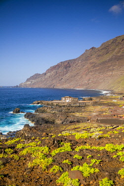 ES09671 Spain, Canary Islands, El Hierro Island, Las Puntas, Hotel Puntagrande, listed in the Guinness Book of World Records as the smallest hotel in the world