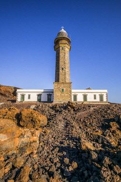 ES09674 Spain, Canary Islands, El Hierro Island, west coast, La Dehesa area, Faro de Orchilla Lighthouse