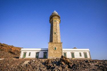 ES09675 Spain, Canary Islands, El Hierro Island, west coast, La Dehesa area, Faro de Orchilla Lighthouse