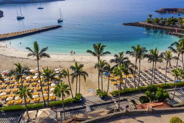 ES09593 Spain, Canary Islands, Gran Canaria, Puerto Rico, Anfi del Mar Beach