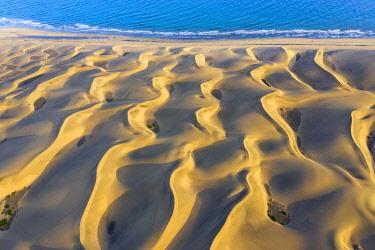 ES09599 Spain, Canary Islands, Gran Canaria, Maspalomas Sand Dunes