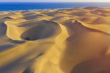 ES09601 Spain, Canary Islands, Gran Canaria, Maspalomas Sand Dunes