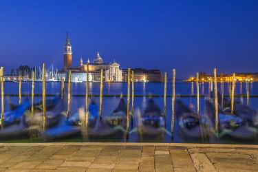 IT497RF San Giorgio Maggiore, Piazza San Marco, Venice, Veneto, Italy