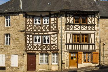 HMS3401888 France, Cotes d'Armor, Moncontour, Labeled village The most beautiful villages of France