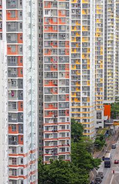 CH12039AW Public housing apartments, Shek Kip Mei, Kowloon, Hong Kong