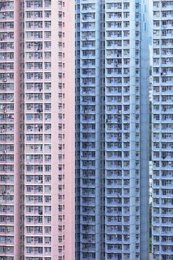 CH12046AW Apartment blocks, Hong Kong