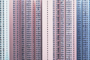 CH12075AW Apartment blocks, Hong Kong