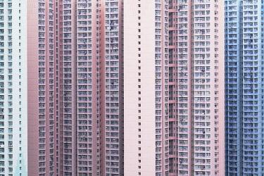 CH12075AW Apartment blocks, Hong Kong
