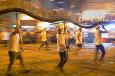 CH12108AW Tai Hang Dragon Dance, Tai Hang, Causeway Bay, Hong Kong