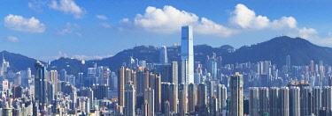 CH12113AW Skyline of Kowloon and Hong Kong Island, Hong Kong, China