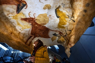 France, Dordogne, Black Perigord, Vezere Valley, prehistoric site and decorated cave classified World Heritage by UNESCO, Montignac-sur-Vezere, Cave of Lascaux IV, International Center of Parietal Art...