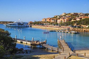IT12409 Italy, Sardinia, Sassari Province, Costa Smeralda, Porto Cervo, Beach at Marina Sardo