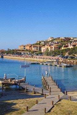 IT12418 Italy, Sardinia, Sassari Province, Costa Smeralda, Porto Cervo, Beach at Marina Sardo
