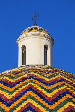 IT12422 Italy, Sardinia, Olbia, Dome of the Church of Saint Paul the Apostle