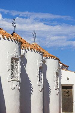 IT12429 Italy, Sardinia, Sassari Province, Costa Smeralda, Porto Cervo, Stella Maris Church by architect Michael Busiri Vici
