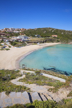 IT12430 taly, Sardinia, Santa Teresa Gallura, Rena Bianca beach