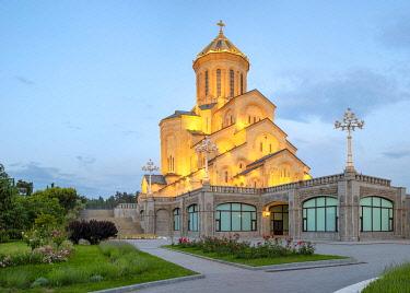GEO0530AWRF Holy Trinity Cathedral, Tbilisi (Tiflis), Georgia.
