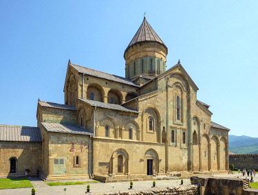 GEO0538AWRF Svetitskhoveli Cathedral, Mtskheta, Mtskheta-Mtianeti, Georgia.