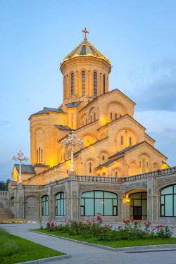 GEO0542AWRF Holy Trinity Cathedral, Tbilisi (Tiflis), Georgia.