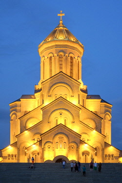 GEO0404AW Holy Trinity Cathedral, Tbilisi (Tiflis), Georgia.