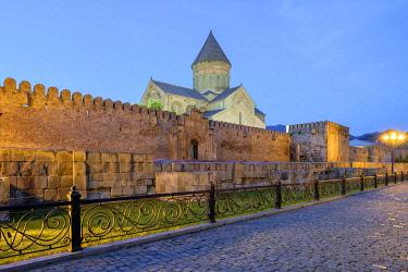 GEO0442AW Svetitskhoveli Cathedral, Mtskheta, Mtskheta-Mtianeti, Georgia.