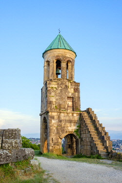 GEO0459AW Belltower of Bagrati Cathedral, Kutaisi, Imereti region, Georgia.
