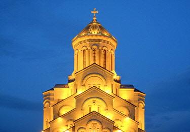 GEO0503AW Holy Trinity Cathedral, Tbilisi (Tiflis), Georgia.