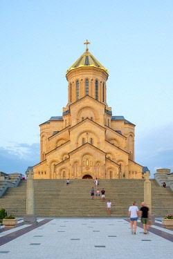 GEO0504AW Holy Trinity Cathedral, Tbilisi (Tiflis), Georgia.