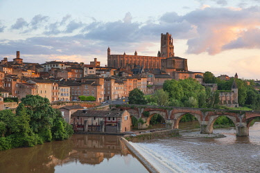 HMS3295713 France, Tarn, Albi, listed as World Heritage by Unesco