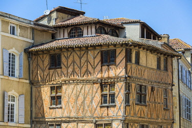 HMS3404734 France, Gers, Auch, step on the way to Compostela, 15th century house, listed as a Historic Monument in 1932