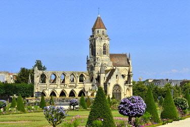 HMS3483778 France, Calvados, Caen, Vieux Saint Etienne church