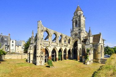 HMS3483781 France, Calvados, Caen, Vieux Saint Etienne church