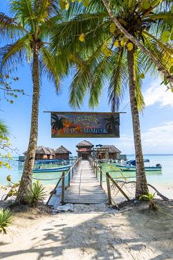 CLKAC116130 Azul Paradise resort, Bastimentos island, Bocas del Toro province, Panama, Central America (PR)