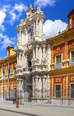 CLKST116992 San Telmo Palace, Seville, Andalucia, Spain