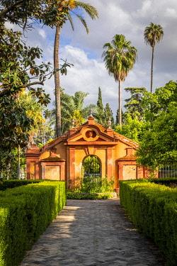 CLKST117269 Real Alcazar gardens. Seville, Andalucia, Spain