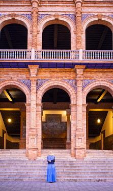 CLKST117293 Plaza de Espana, Seville, Andalucia, Spain