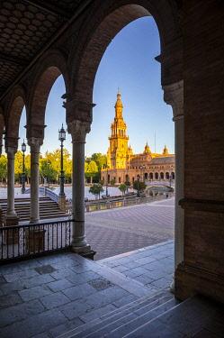CLKST117306 Plaza de Espana, Seville, Andalucia, Spain
