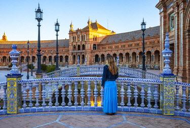 CLKST117314 Plaza de Espana, Seville, Andalucia, Spain (MR)