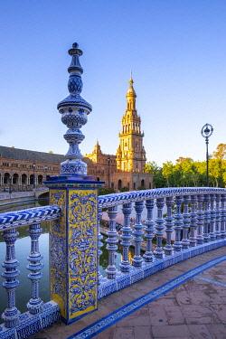 CLKST117318 Plaza de Espana, Seville, Andalucia, Spain
