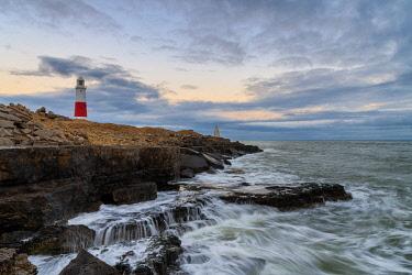 CLKAC117536 Portland Bill lighthouse, Isle of Portland, Jurassic coast, Dorset, England, UK