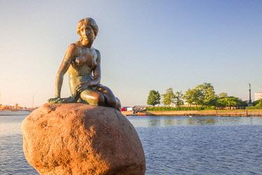 CLKAB115096 The Little Mermaid, Copenhagen, Hovedstaden, Denmark, Northern Europe.