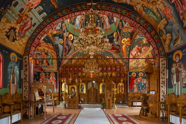ROM1684AW Monastery Adamclisi St. Philip, Adamclisi, Dobrudscha, Romania