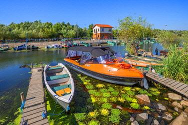 ROM1706AW Harbour of Saint George, Danube Delta, Dobrudscha, Romania