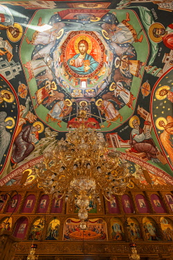 ROM1710AW Monastery Adamclisi St. Philip, Adamclisi, Dobrudscha, Romania