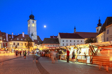 ROM1736AW Piata Micu, Sibiu, Transylvania, Romania