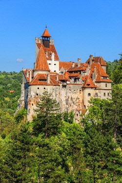 ROM1747AW Castle Bran, Draculas castle, Bran, Transylvania, Romania